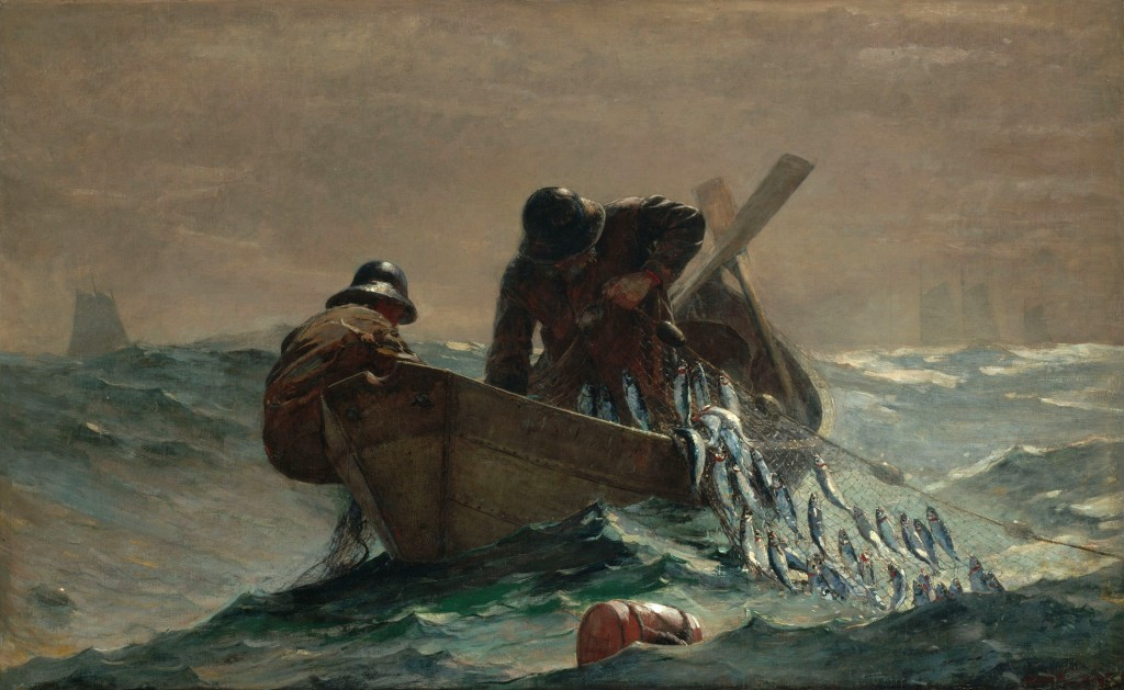 "Winslow Homer, ""The Herring Net"" (1885)"