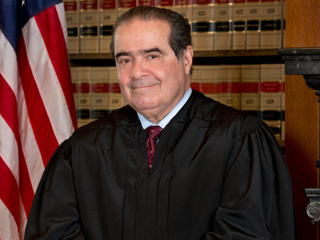 Portrait of Justice Scalia